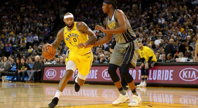 Golden State Warriors vs. Indiana Pacers - 1/24/20 NBA ...