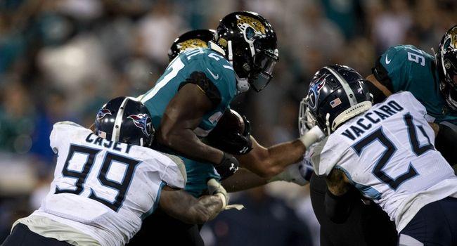 Jacksonville Jaguars At Tennessee Titans