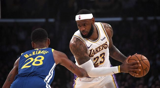 Los Angeles Lakers vs. Golden State Warriors - 11/13/19 ...