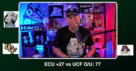 East Carolina vs UCF Free College Football Pick and Prediction CFB Tips Saturday 9/26/20 | PickDawgz