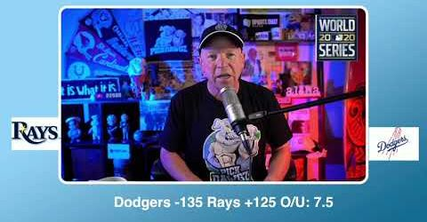 Los Angeles Dodgers vs Tampa Bay Rays Free Pick 10/21/20 World Series Game 2 Pick & Prediction MLB