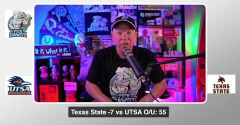 Texas State vs UTSA 9/12/20 Free College Football Pick and Prediction CFB Tips