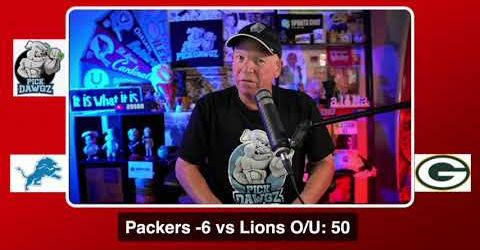 Green Bay Packers vs Detroit Lions NFL Pick and Prediction 9/19/20 Week 2 NFL Betting Tips PickDawgz (skip to 40s)