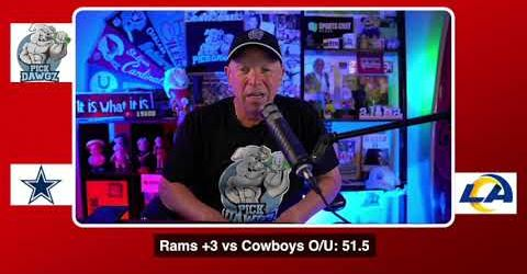 Dallas Cowboys vs Los Angeles Rams NFL Pick and Prediction 9/13/20 Week 1 NFL Betting Tips
