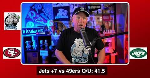 New York Jets vs San Francisco 49ers NFL Pick and Prediction 9/20/20 Week 2 NFL Betting Tips