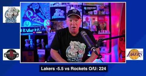 Los Angeles Lakers vs Houston Rockets 9/6/20 Free NBA Pick and Prediction NBA Betting Tips